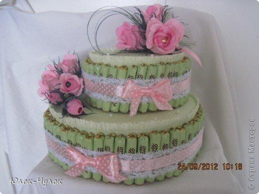 доброго всем дня. сегодня я хочу показать свои тортики. вот этот заказали на День рождения девочки.  фото 4