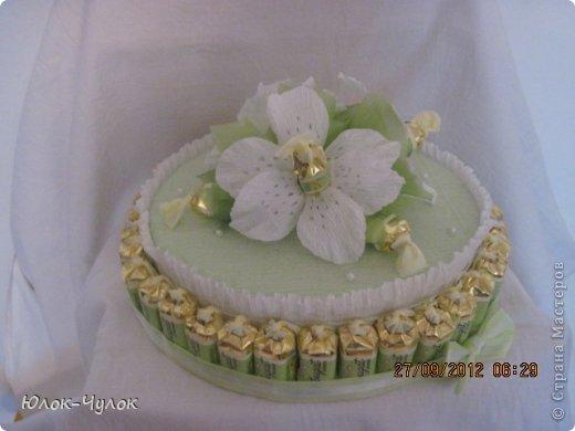 доброго всем дня. сегодня я хочу показать свои тортики. вот этот заказали на День рождения девочки.  фото 5