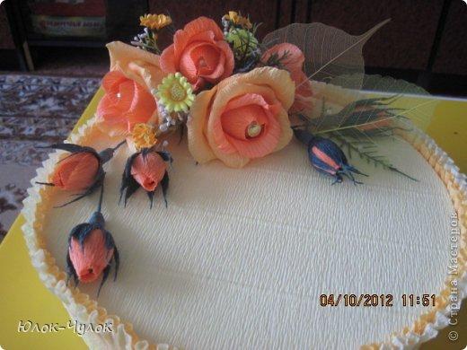 доброго всем дня. сегодня я хочу показать свои тортики. вот этот заказали на День рождения девочки.  фото 11