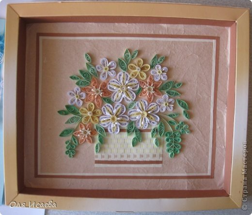 Цветы в корзинке фото 2