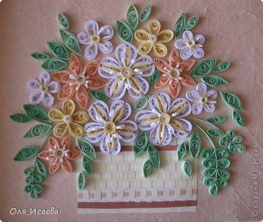 Цветы в корзинке фото 1