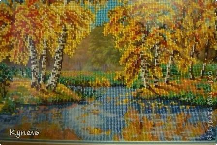 Это итог моей работы за июль. В итоге получилась картина 28 на 38 см (без рамки). фото 2