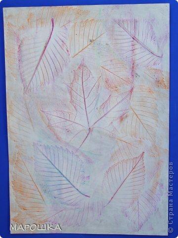 Фроттаж - интересная техника, мы начали с восковых карандашей и живых листьев, когда проявляется рисунок восхищению детей нет предела... впервые с этой техникой (не считая карандашных монеток в детстве) встретилась в книгах фото 10
