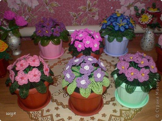Очень люблю фиалки !!! Живые то же стоят на окне . Но эти всегда цветут и радуют глаз !!! фото 4