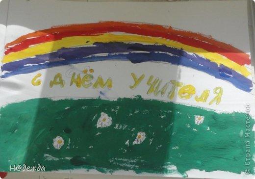 Ко дню учителя Вероника делалет подарки сама. Вои в этом году она решила сделать бисерные букетики с цветочками.  фото 18