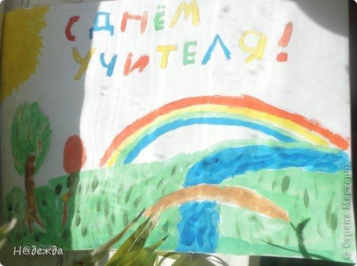Ко дню учителя Вероника делалет подарки сама. Вои в этом году она решила сделать бисерные букетики с цветочками.  фото 19