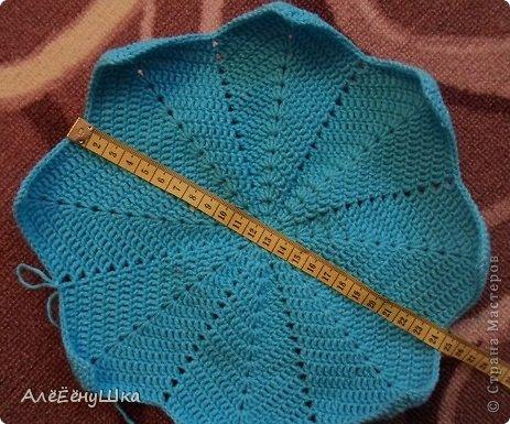 шарф и берет для дочки (с описанием) фото 10