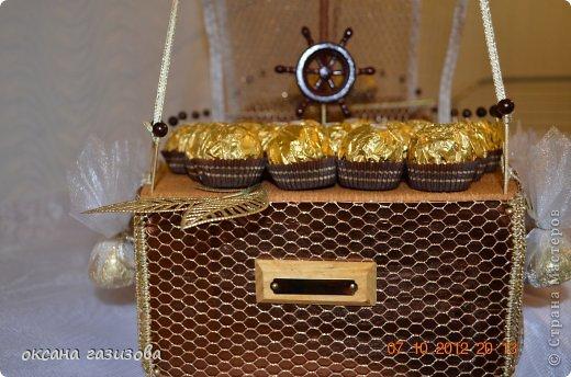Мой первый конфетный кораблик!!! фото 2
