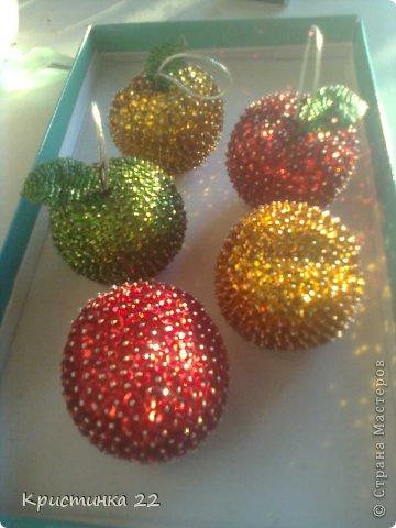 яблочки на елку фото 1