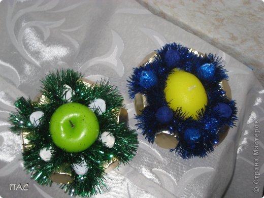 Пора подумать о новом годе. Вот такие свечки с конфетками решила делать и дарить друзьям. фото 2