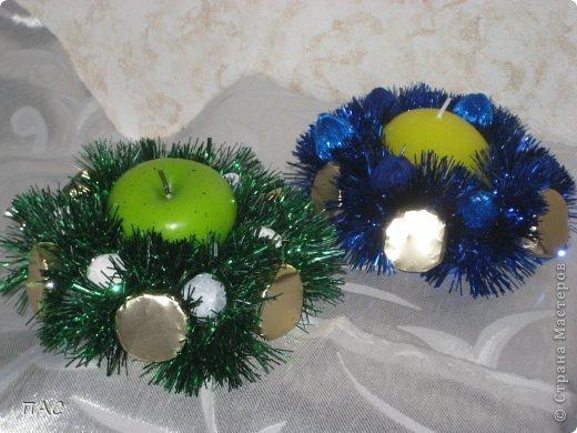 Пора подумать о новом годе. Вот такие свечки с конфетками решила делать и дарить друзьям. фото 5