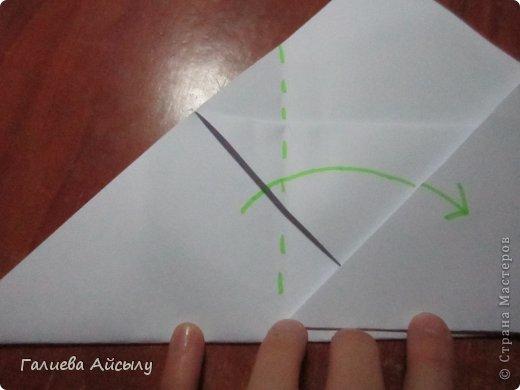 Вот такой конвертик мы сегодня сделаем.  Нам понадобится : Ножницы Бумага  Фломастеры. фото 8