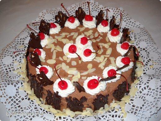 Итальянский ореховый торт фото 1