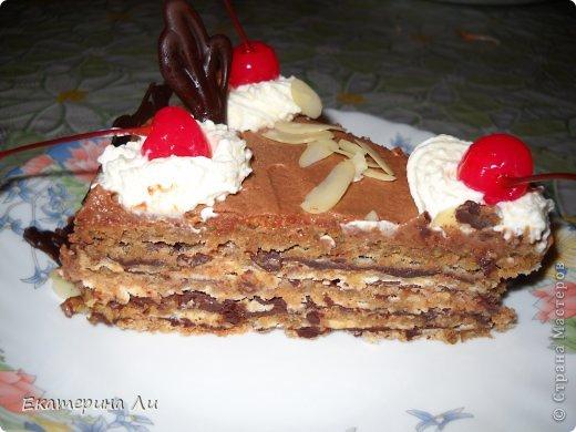 Итальянский ореховый торт фото 3