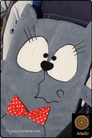 Котик-коврик в коляску доченьки! фото 1