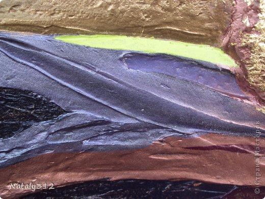 Панно выполнены на пеноплексе. Размеры 120 Х 60 см. Использовалась шпаклевка, а не гипс. Первое панно. фото 5