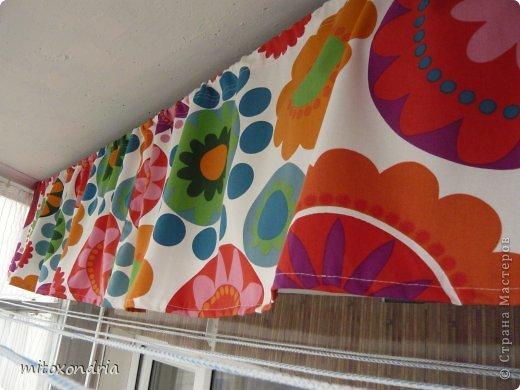 Сшила для зала новые шторы. Для их изготовления мне понадобилось по 6 метров шторной ткани оранжевого и шоколадного цвета и 5 метров органзы. Коричневые шторы так же можно задернуть полностью, получается очень темно, это я к полярному дню готовлюсь :))))) фото 4