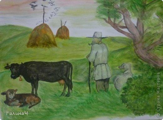 моя малая родина рисунки: