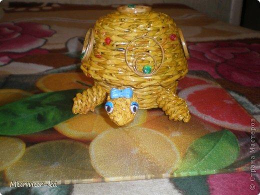 На создание этой черепашки меня подвигли работы жительниц СМ: Nila, иро4ка. Это конечный результат. фото 4