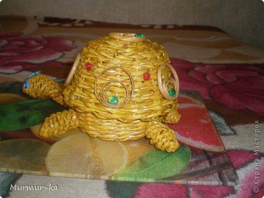 На создание этой черепашки меня подвигли работы жительниц СМ: Nila, иро4ка. Это конечный результат. фото 3