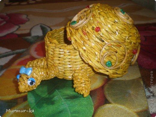 На создание этой черепашки меня подвигли работы жительниц СМ: Nila, иро4ка. Это конечный результат. фото 1