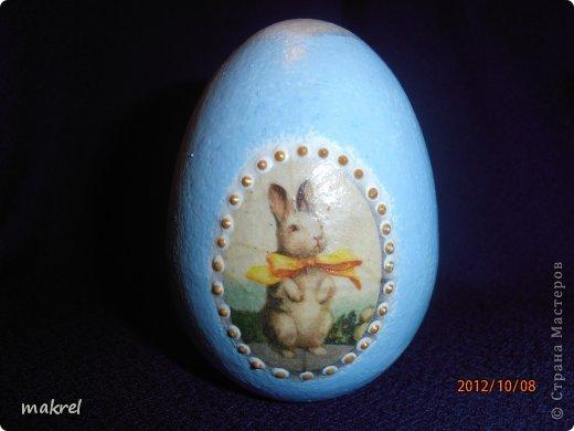 Пасхальное яицо.Одной стороной фото 1