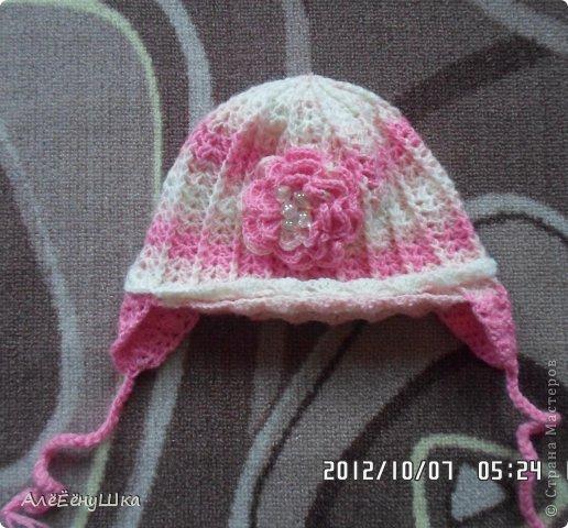 малышкины шапочка и шарфик)) фото 9