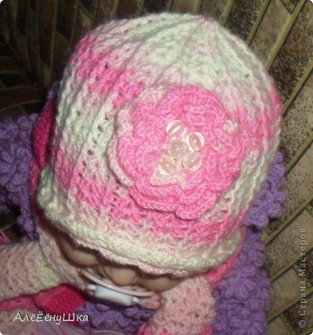 малышкины шапочка и шарфик)) фото 12