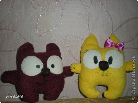 Здравствуйте все, кто зашел на мою страничку! Вот на такие замечательные мягкие игрушки я вдохновилась, посетив блоги Ольги Романовой и Дашули Гущиной! А главное, эти пухляшки очень понравились моим детям! фото 2