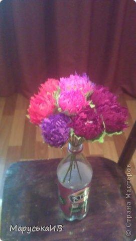 Как я начала делать цветы из бумаги и что из этого вышло :))) фото 7