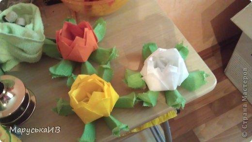 Как я начала делать цветы из бумаги и что из этого вышло :))) фото 13