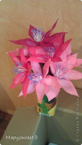 Как я начала делать цветы из бумаги и что из этого вышло :))) фото 14