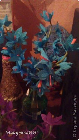 Как я начала делать цветы из бумаги и что из этого вышло :))) фото 17