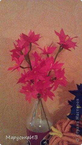 Как я начала делать цветы из бумаги и что из этого вышло :))) фото 18