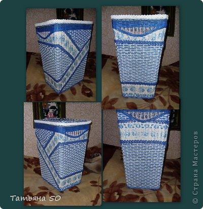 Интерьер Плетение Продолжение переделки в ванной   Бумага фото 14