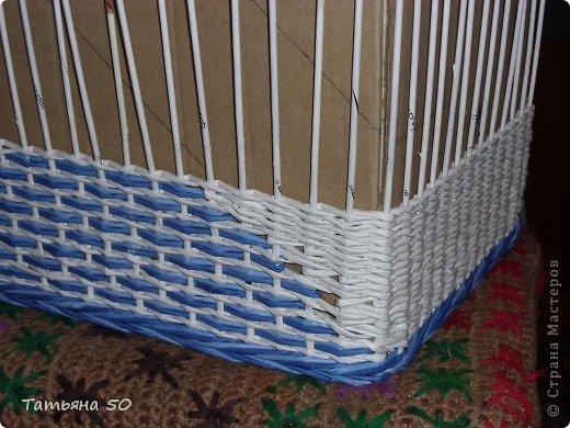 Интерьер Плетение Продолжение переделки в ванной   Бумага фото 5