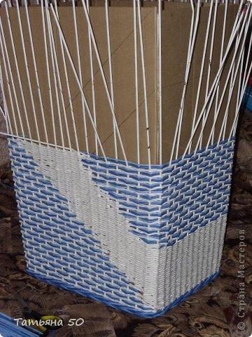 Интерьер Плетение Продолжение переделки в ванной   Бумага фото 6