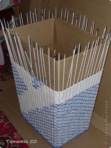 Интерьер Плетение Продолжение переделки в ванной   Бумага фото 7