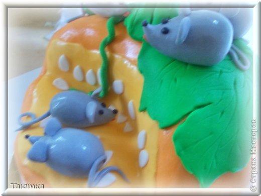 Меня почему то очень вдохновил этот тортик, сделала быстро и с огромным удовольствием! фото 2