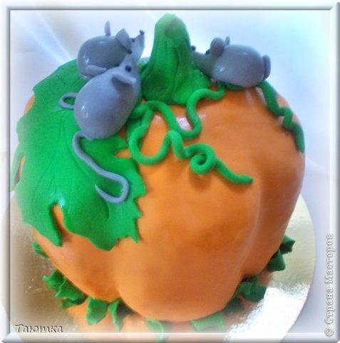 Меня почему то очень вдохновил этот тортик, сделала быстро и с огромным удовольствием! фото 4