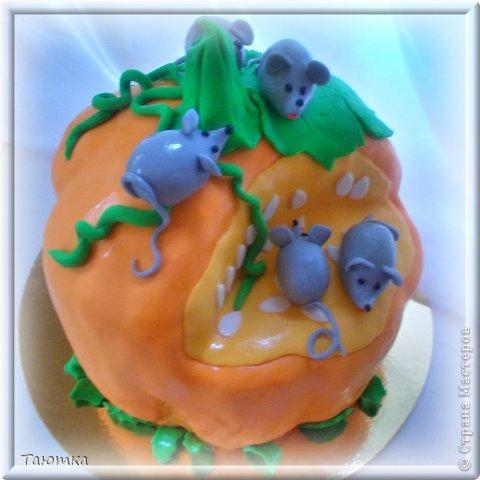 Меня почему то очень вдохновил этот тортик, сделала быстро и с огромным удовольствием! фото 5