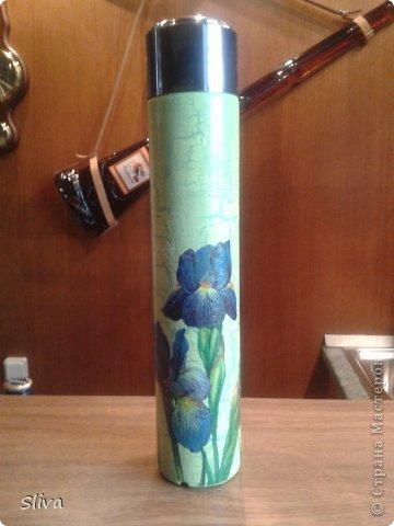 Рамка для фотографий, рисовая бумага, акриловые краски, лак и декор фото 4