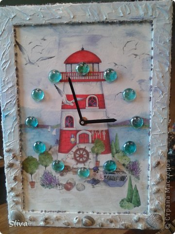 Рамка для фотографий, рисовая бумага, акриловые краски, лак и декор фото 1