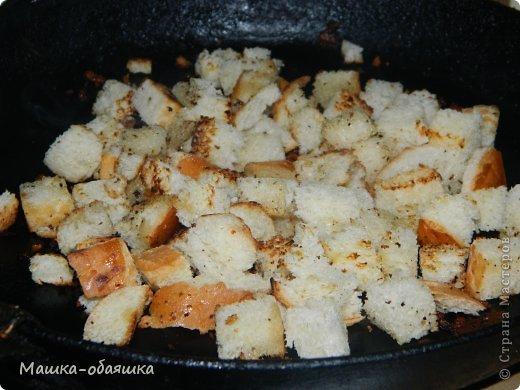 Вот такой салатик вчера сварганила) Ничего необычного, не считая маковой посыпки. Для салатика нам понадобится копченая куриная грудка, помидоры, сухарики, майонез и мак. Продукты брала на глаз и на вкус))) фото 3