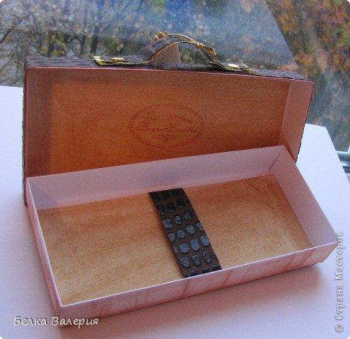 """Добрый вечер! В продолжении """"кожаной"""" коллекции - портфельчики.  Размер 9х18 см. В них хорошо помещается и шоколадка, и денежная купюра (а может даже пачка купюр), и какой-нибудь небольшой подарочек (флешка, ручка и т.п.). фото 2"""