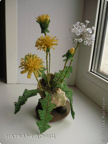 цветы Бисер фото 6