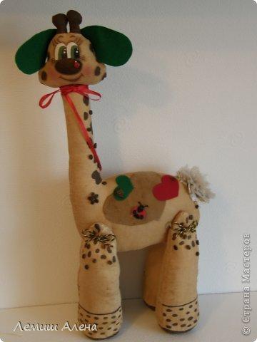 А это мои кофейные игрушки и не только, которые я нашила на радостях после покупки швейной машинки! Влюбленный жираф(или жирафа) фото 1