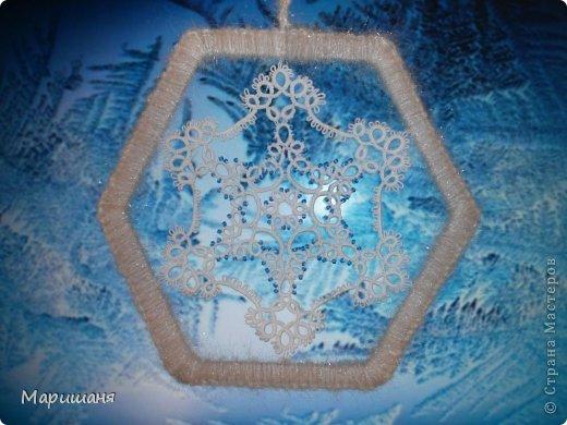 Схемы снежинок взяты из различных журналов по фриволите, скорее всего из польского журнала Moje robotki и автором их...