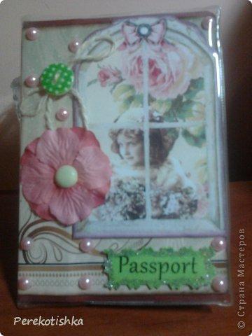 """Одёжка для моего паспорта Всем, кто посмотрел """"СПАСИБО"""" фото 1"""