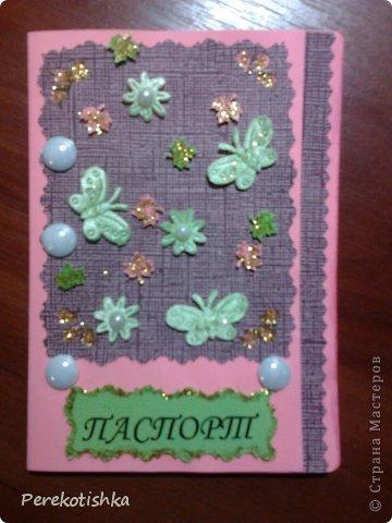 """Одёжка для моего паспорта Всем, кто посмотрел """"СПАСИБО"""" фото 5"""